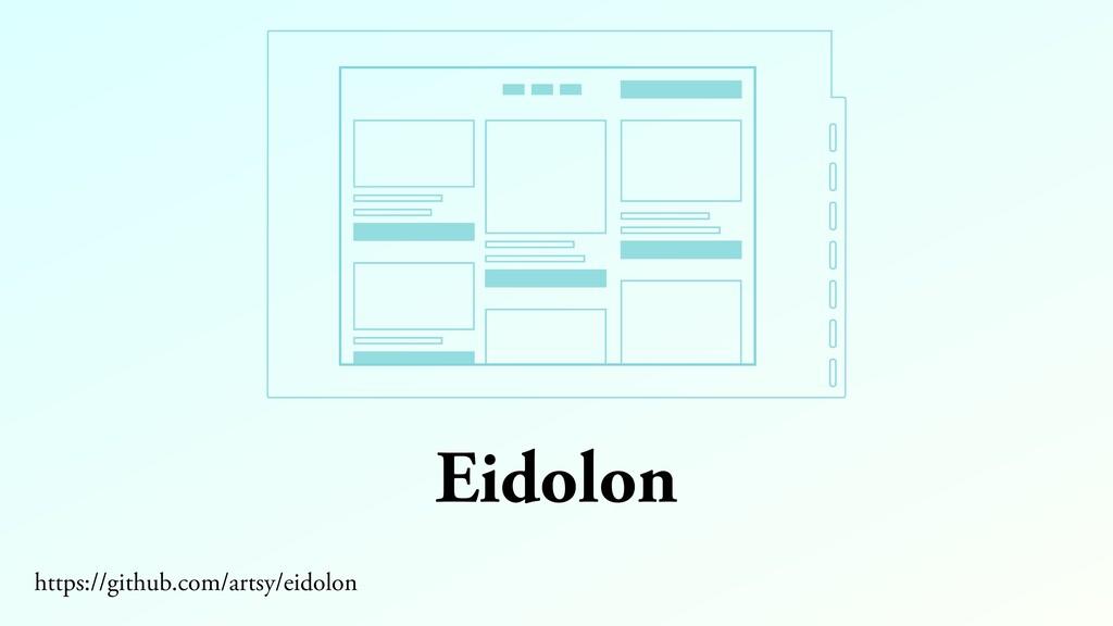 Eidolon https://github.com/artsy/eidolon