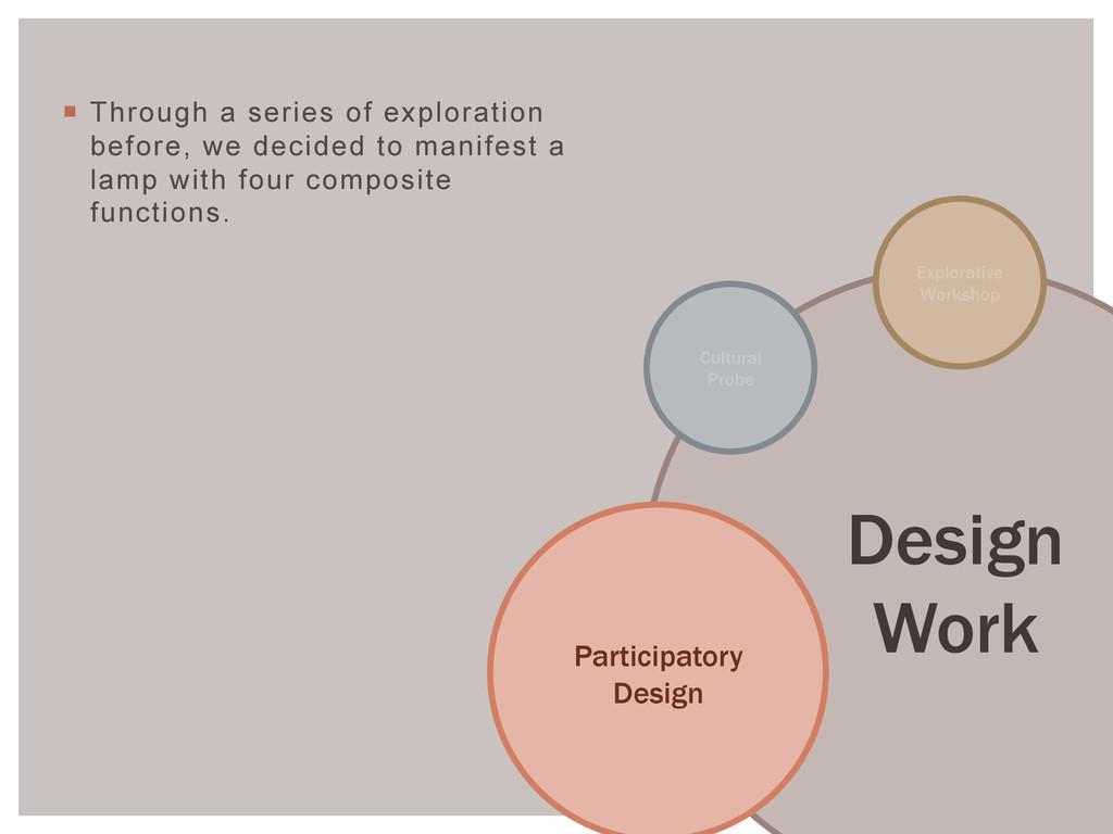 Design Work Explorative Workshop Participatory ...