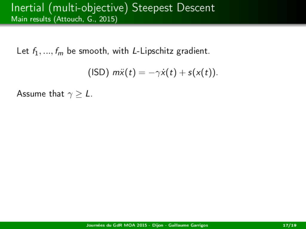 Inertial (multi-objective) Steepest Descent Mai...