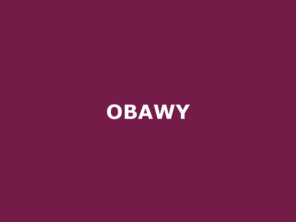 OBAWY