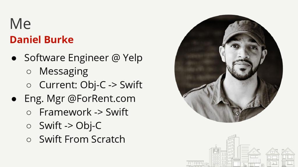 ● Software Engineer @ Yelp ○ Messaging ○ Curren...