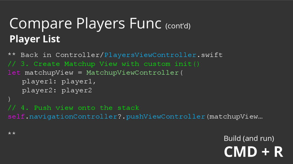 ** Back in Controller/PlayersViewController.swi...