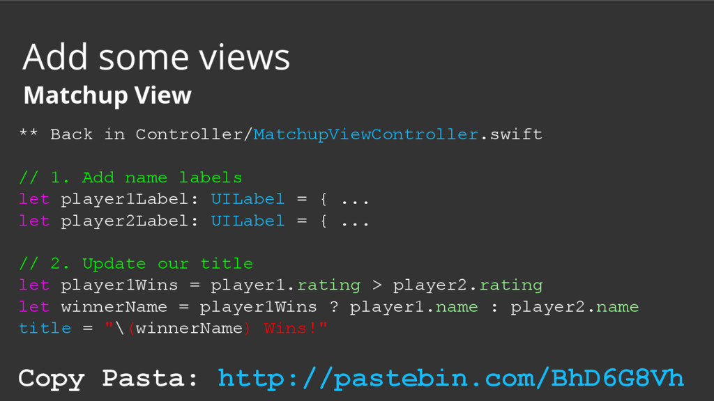 ** Back in Controller/MatchupViewController.swi...