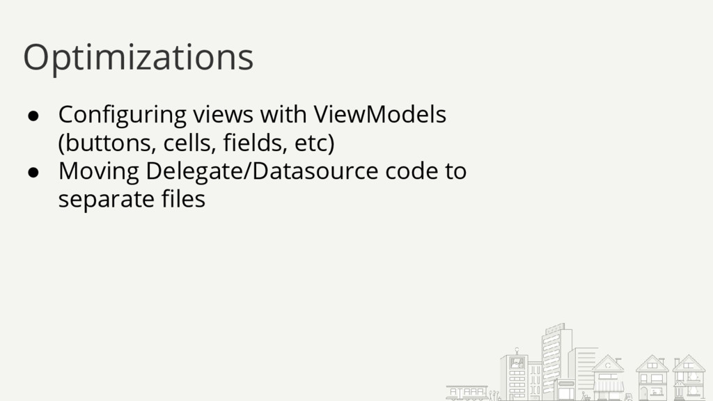 ● Configuring views with ViewModels (buttons, c...