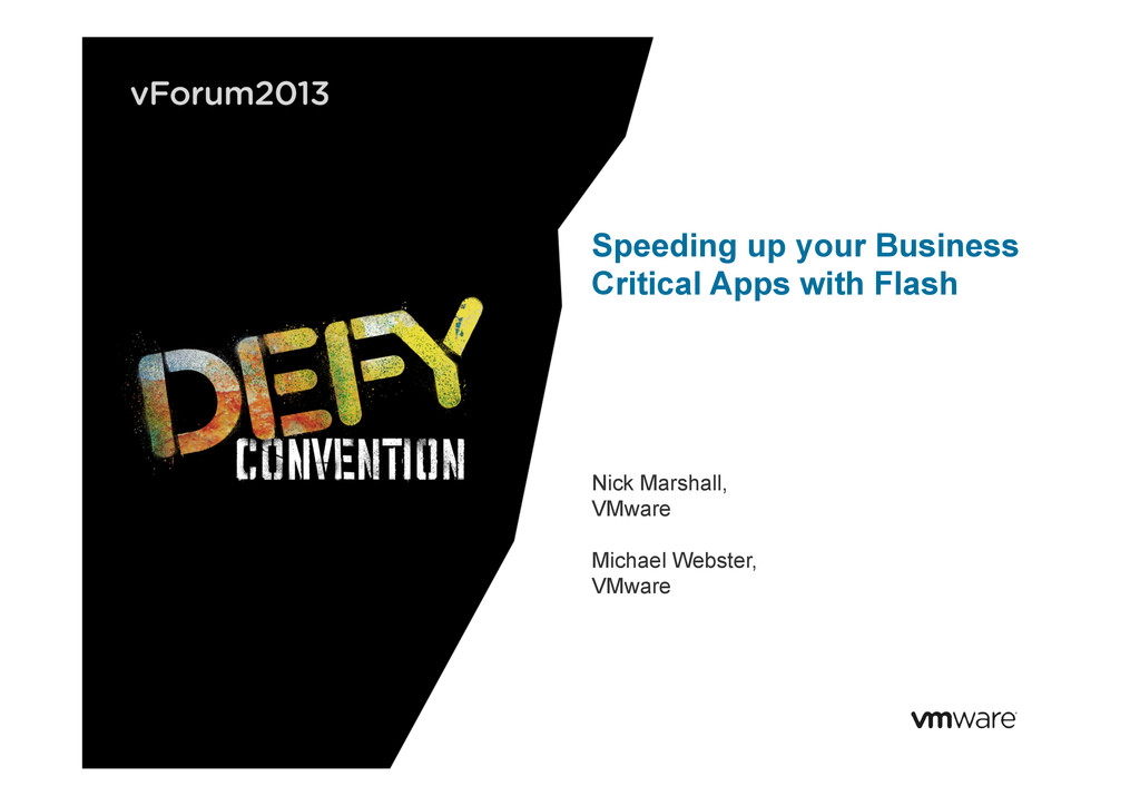 Speeding up your Business Critical Apps with Fl...