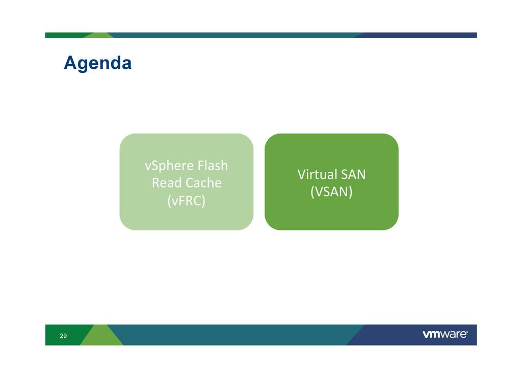 29 Agenda vSphere Flash   Read Cach...