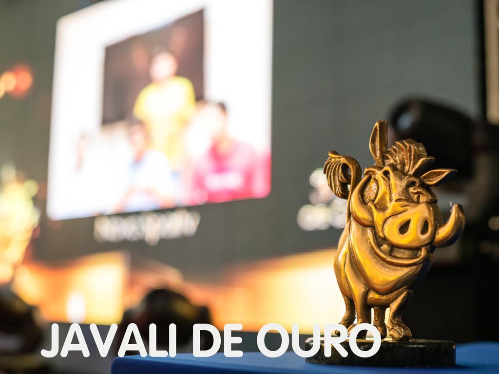 JAVALI DE OURO
