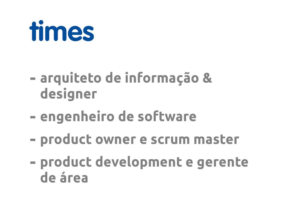 times - arquiteto de informação & designer - en...