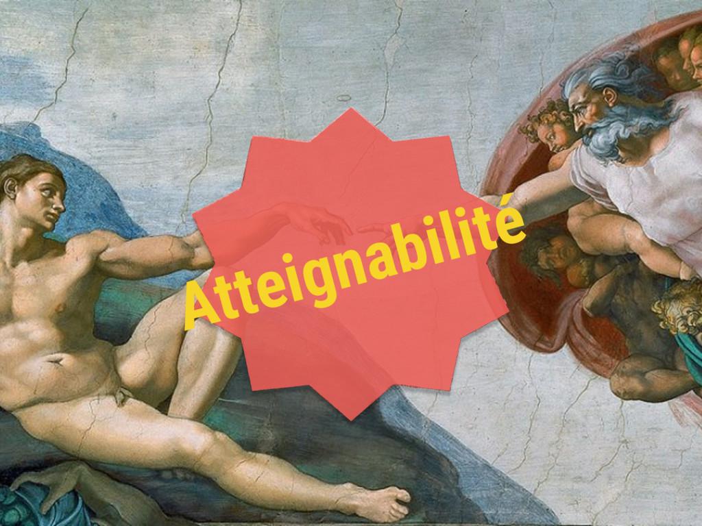 Atteignabilité