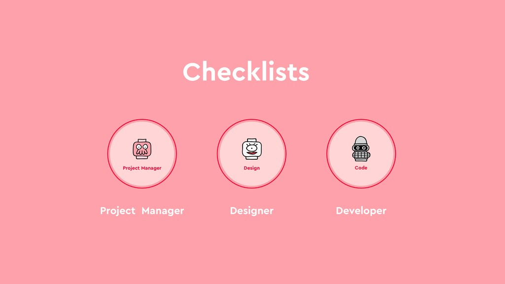 Checklists Project Manager Project Manager Desi...