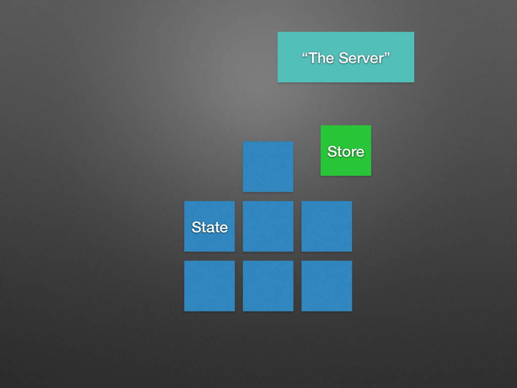 """State Store """"The Server"""""""