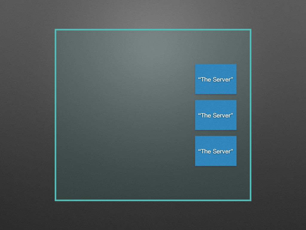 """The Server"" ""The Server"" ""The Server"""