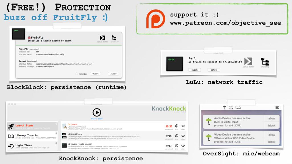 buzz off FruitFly :) (FREE!) PROTECTION BlockBl...