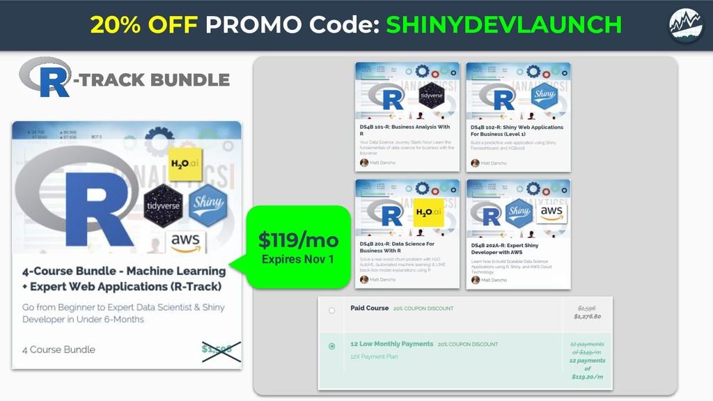 -TRACK BUNDLE 20% OFF PROMO Code: SHINYDEVLAUNC...