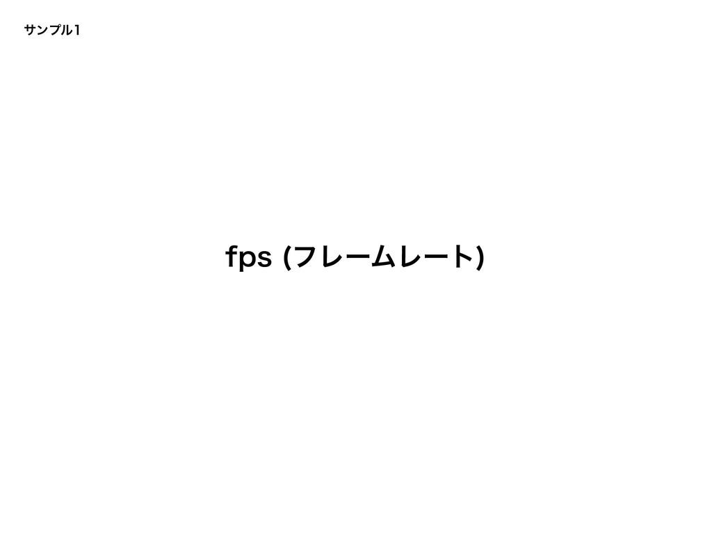 αϯϓϧ GQT ϑϨʔϜϨʔτ