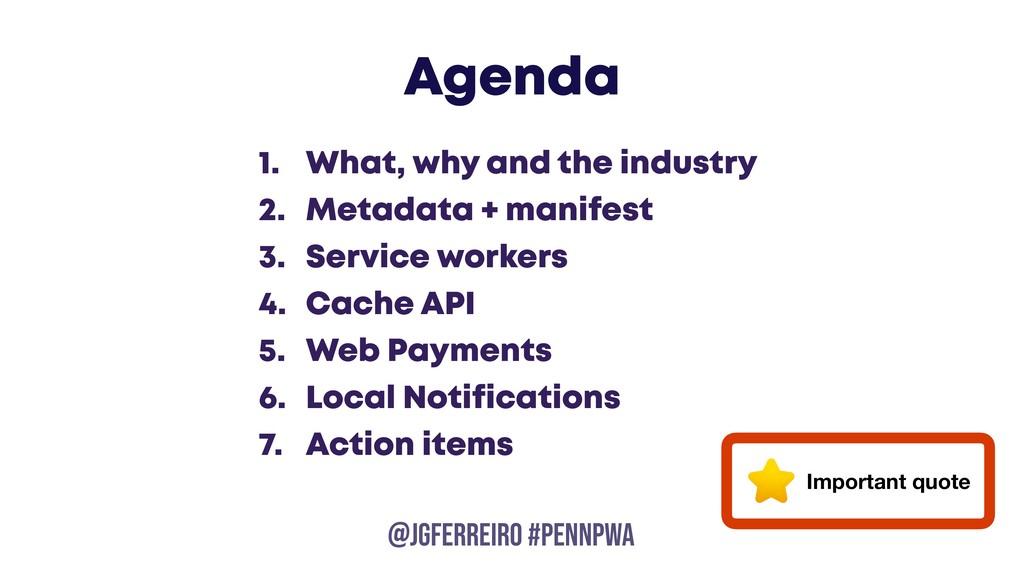 @JGFERREIRO @JGFERREIRO #PENNPWA Agenda 1. What...