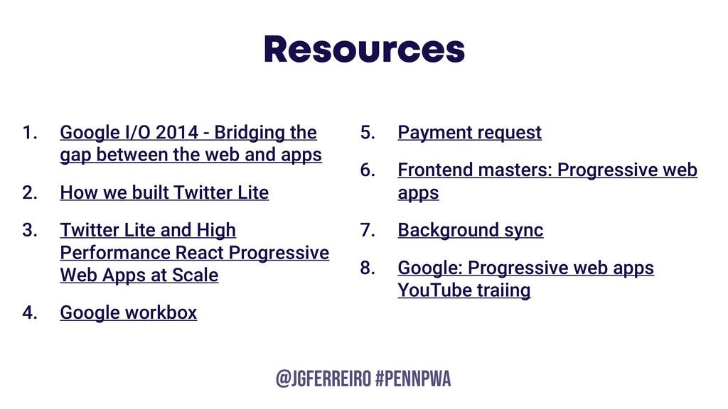 @JGFERREIRO @JGFERREIRO #PENNPWA Resources 1. G...