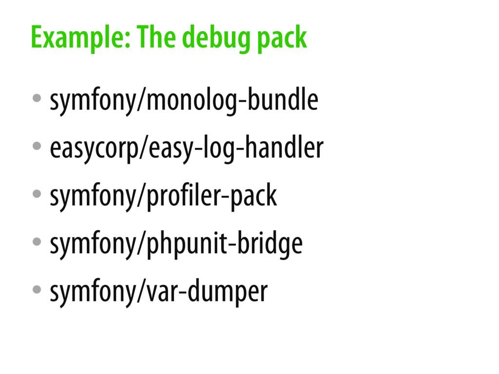 • symfony/monolog-bundle • easycorp/easy-log-ha...