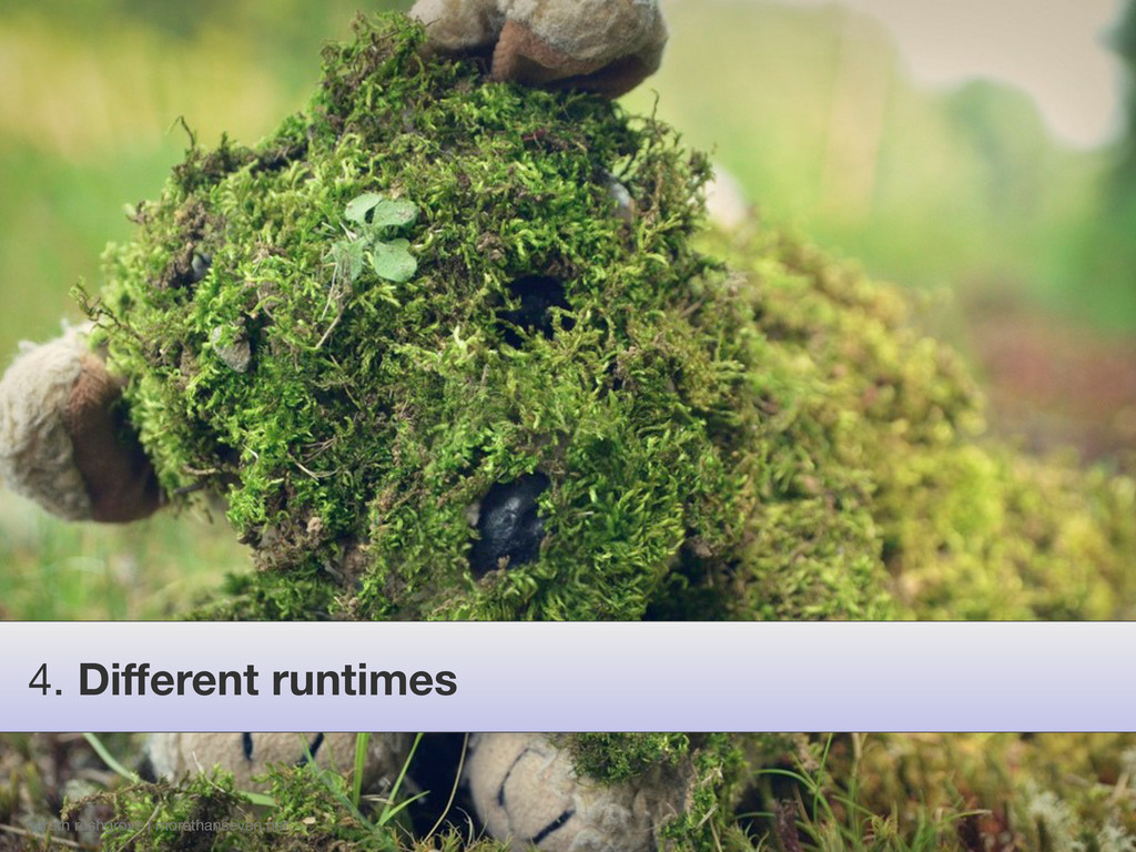 gareth rushgrove | morethanseven.net 4. Differen...