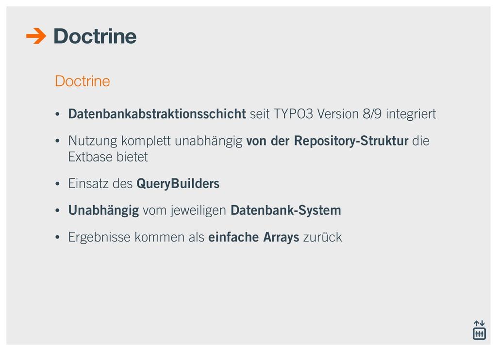 Doctrine Doctrine • Datenbankabstraktionsschich...