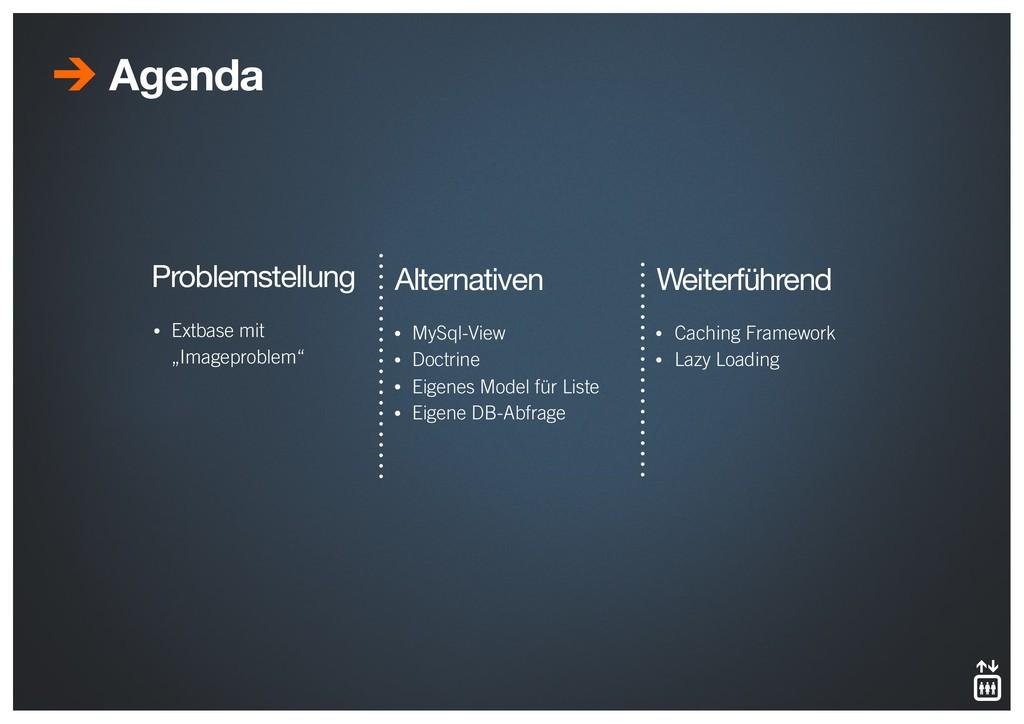 "Agenda • Extbase mit  ""Imageproblem"" Problemst..."
