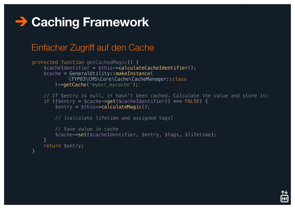Caching Framework protected function getCachedM...