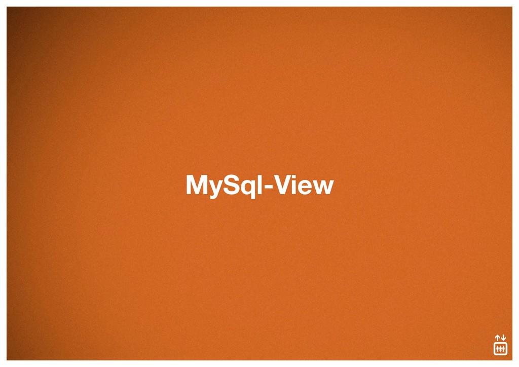 MySql-View