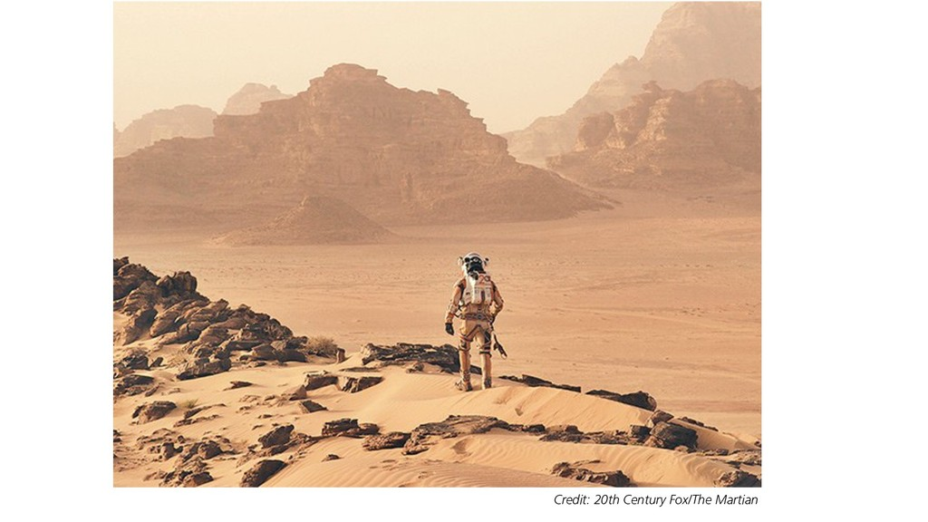 Credit: 20th Century Fox/The Martian