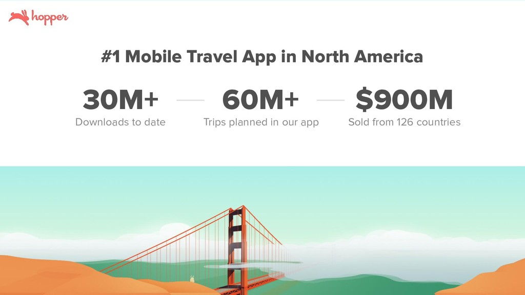 #1 Mobile Travel App in North America Downloads...
