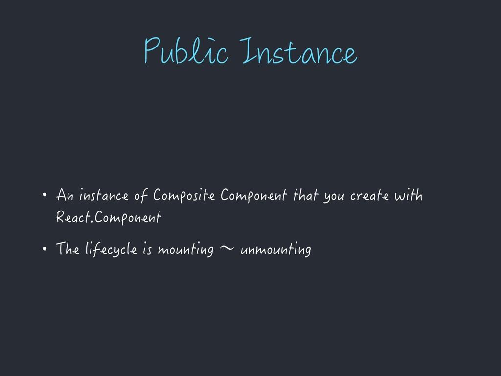 1VCMJD*OTUBODF • An instance of Composite Comp...