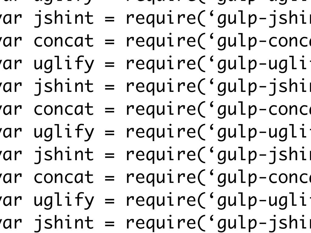 var uglify = require('gulp-uglif var jshint = r...