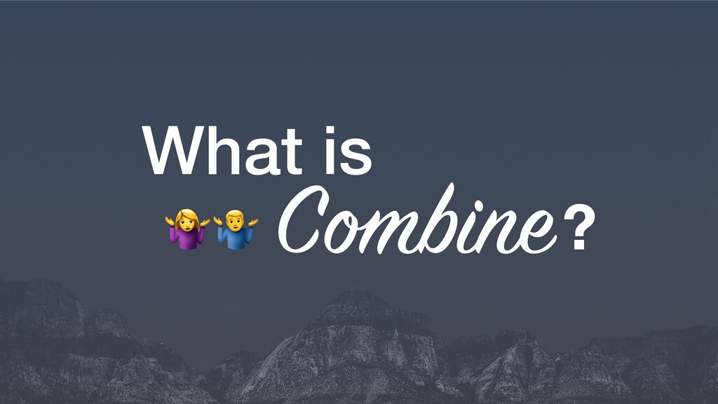 What is C bine? # $