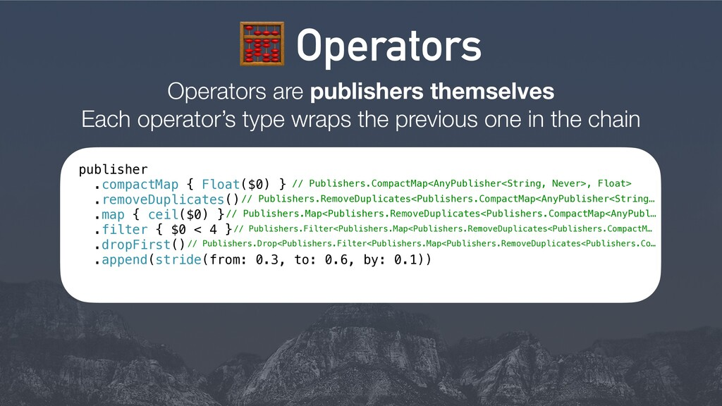 8 Operators Operators are publishers themselves...