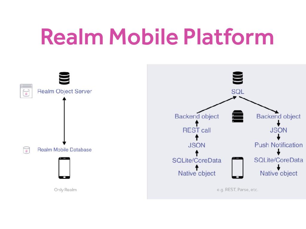Realm Mobile Platform
