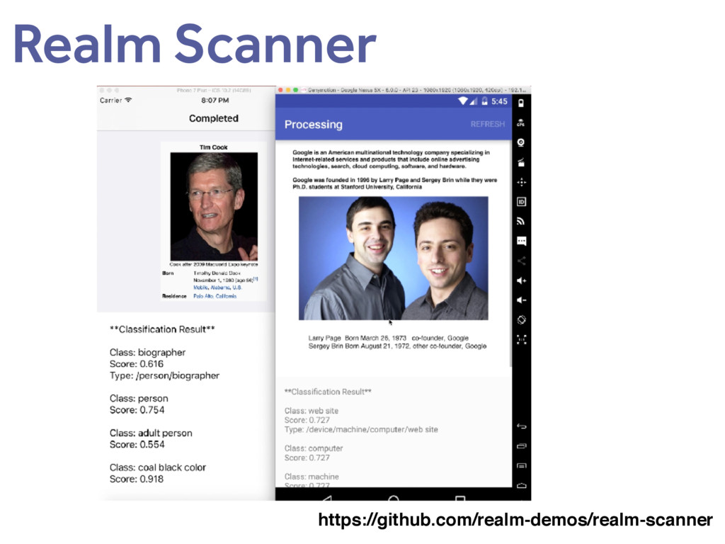 Realm Scanner https://github.com/realm-demos/re...