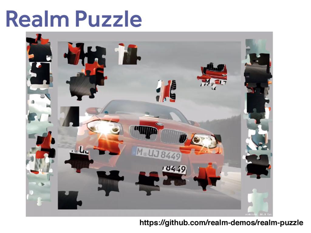 Realm Puzzle https://github.com/realm-demos/rea...