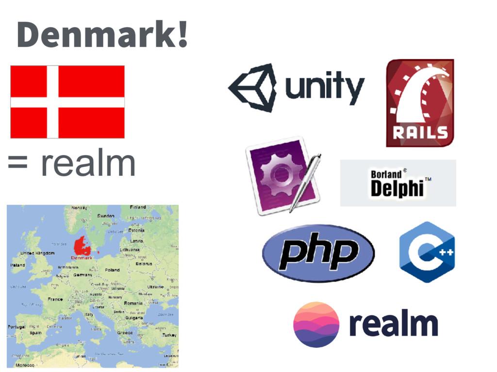 Denmark! = realm