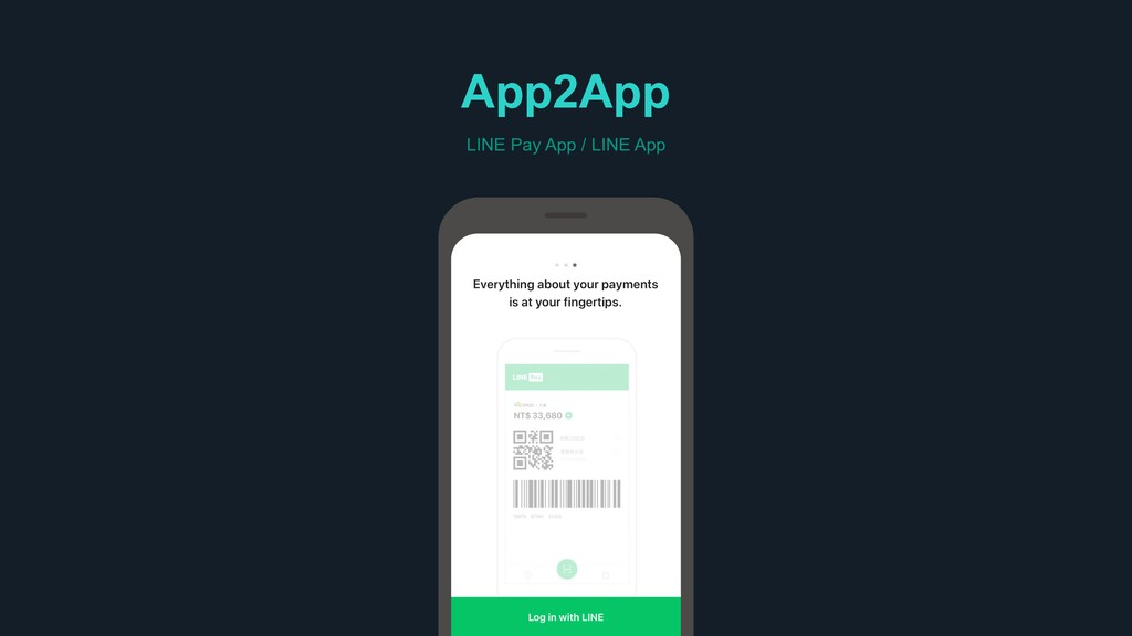 App2App LINE Pay App / LINE App