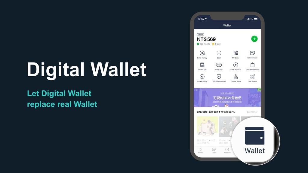 Digital Wallet Let Digital Wallet replace real ...