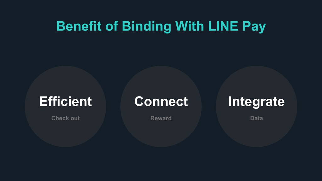 Benefit of Binding With LINE Pay Check out Effi...
