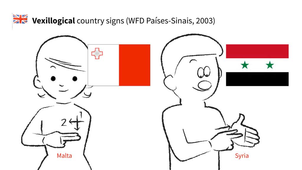 Vexillogical country signs (WFD Países-Sinais, ...