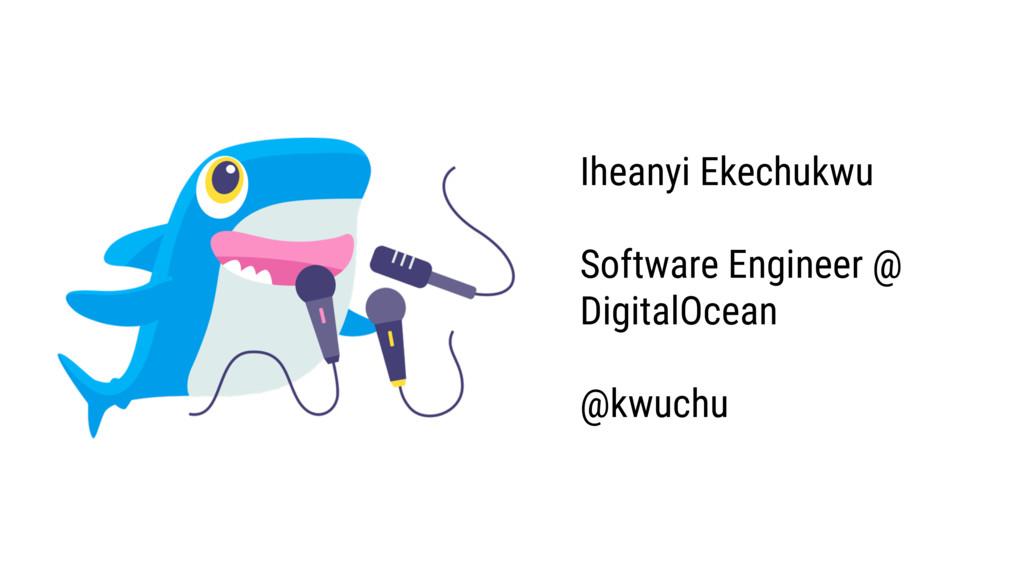 Iheanyi Ekechukwu Software Engineer @ DigitalOc...