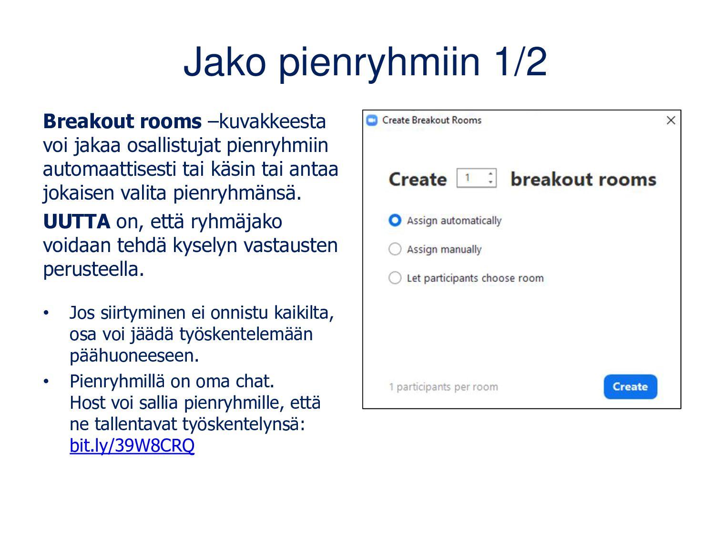 Webinaarin jälkeen • Jaa materiaalit/linkit • J...