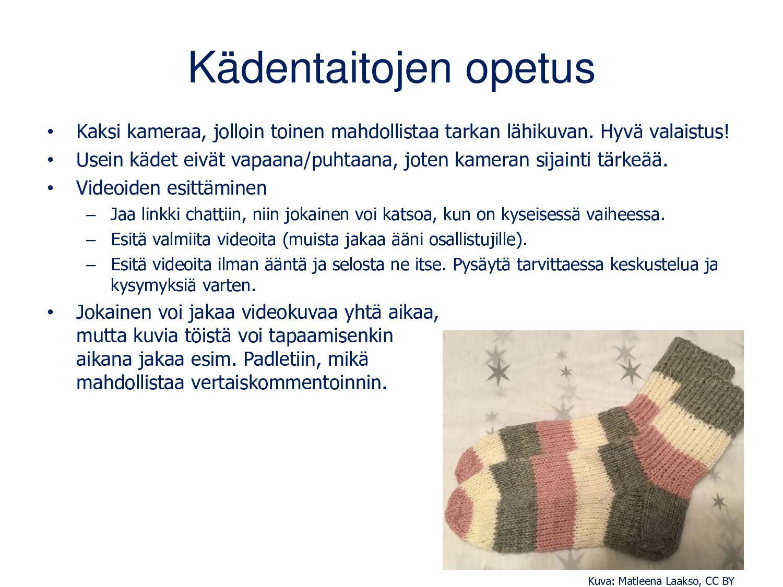 Lisätietoja • CC-lisenssit: creativecommons.fi ...
