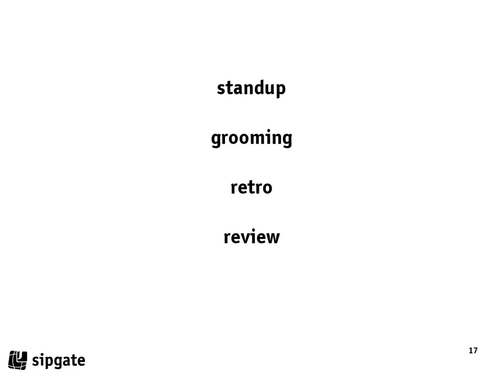 17 standup grooming retro review
