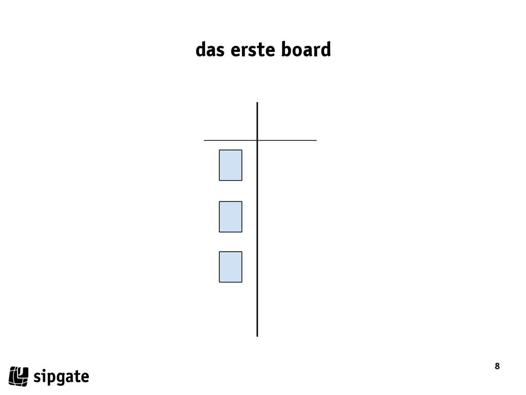 8 das erste board