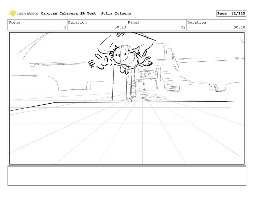 Scene 1 Duration 50:23 Panel 32 Duration 00:10 ...