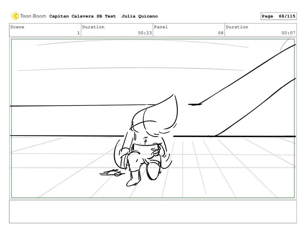 Scene 1 Duration 50:23 Panel 68 Duration 00:07 ...