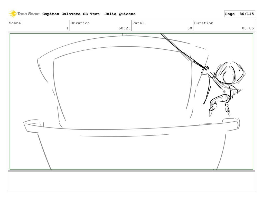 Scene 1 Duration 50:23 Panel 80 Duration 00:05 ...