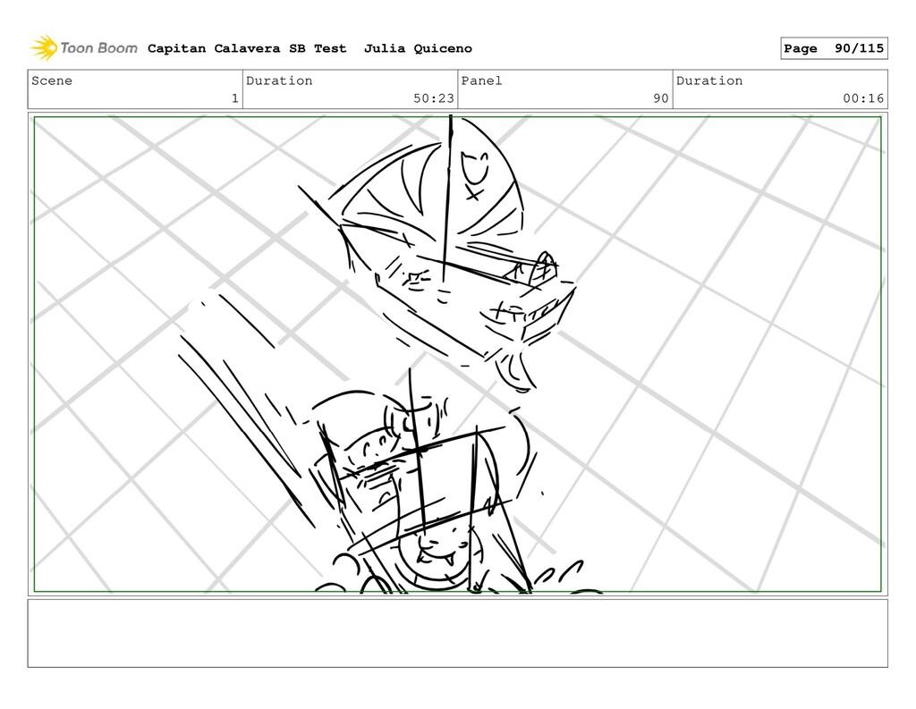 Scene 1 Duration 50:23 Panel 90 Duration 00:16 ...